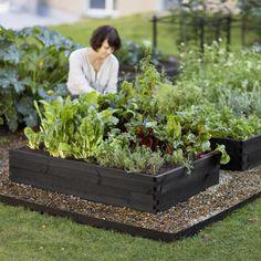Højbed - Sort fra Urban Garden Company