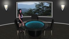 Infinity Mirror Displays and Infinity Mirror Tables Infinity Spiegel, Infinity Mirror Table, Mirror With Lights, Wall Lights, Mirror Dining Table, Infinity Lights, Two Way Mirror, Mirror Panels, Mirrors