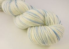 Sale Sparkling WINTERS CHILL  Superwash by NeverEnoughThymeYarn, $18.00