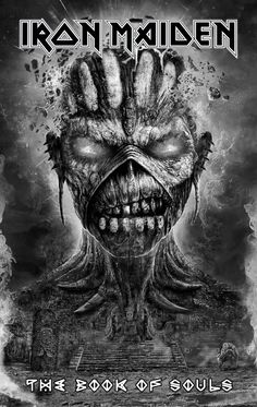 #MetalFact there is no such thing as a Bad artwork of iron maiden