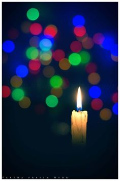 Bokehlicious Candle - Photography by Parthapratim Neog at touchtalent 21221