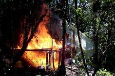 Tropas del Batallón San Mateo logran la destrucción de un laboratorio de Coca en Pueblo Rico.