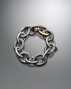 Extra Large Oval Link Bracelet by David Yurman at Neiman Marcus.