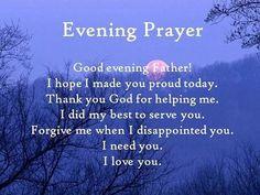 30 Best evening prayers images in 2018   Night prayer