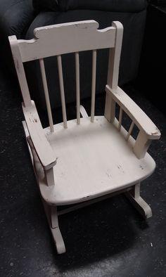 Pleasing 21 Best Vintage Child Rocking Chairs Images Vintage Machost Co Dining Chair Design Ideas Machostcouk