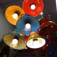 lamparas colador