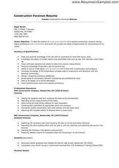 construction resume template resume template ideas