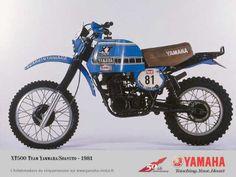Yamaha and Rally Moto Enduro, Enduro Motorcycle, Motorcycle Images, Motorcycle Engine, Yamaha Xt 600, Motos Yamaha, Yamaha Motorcycles, Enduro Vintage, Vintage Bikes