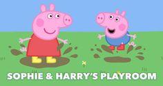 Peppa Pig & George them personalised door sign