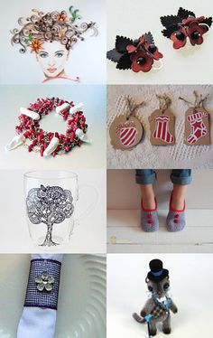 Christmas gift ideas! by Elena on Etsy--Pinned with TreasuryPin.com