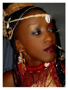 Artagence Coiffure Africaine Ethnik  Gabon / Cameroun / Guinea Ecuatorial - Fang   #artagence