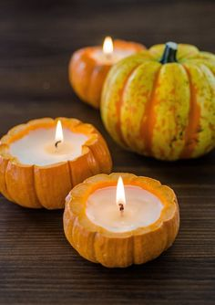 How To Make a Candle Out of a Pumpkin — Projects from The Kitchn | The Kitchn