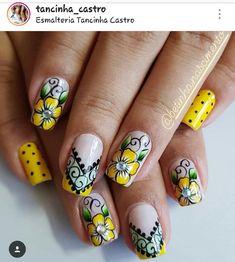 Creative Nail Designs, Creative Nails, Nail Art Designs, Fabulous Nails, Gorgeous Nails, Fancy Nails, Cute Nails, Nail Art Techniques, Stiletto Nail Art