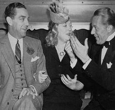 Bob Cobb Marion Davies et Gene Raymond