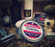SOTD: 2/16/2016  WSP Formula T Barbershop Soap WSP Barbacool Aftershave Splash WSP Barbershop Aftershave Balm WSP Barbershop Pre Shave Oil WSP El Grande Open Comb Razor WSP Monarch HMW Badger Brush Astra Blade RazoRock Alum Block  Today was an all WSP day. Formula T is awesome especially for this cold weather climate. Great slickness and cushion. The aftershave splashes have great scent and the menthol kick is very nice. The balm is on the ticker side and I love that it's up there with my…