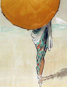 Boardwalk inspiration that dates all the way back to 1909 by René Gruau #TOMS