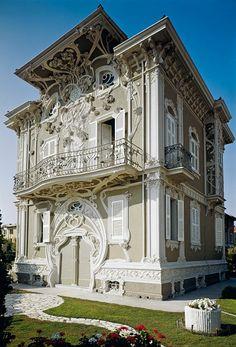 Giuseppe Brega - 1907 - Photo by Andrea Speziali - Art Nouveau in Italy