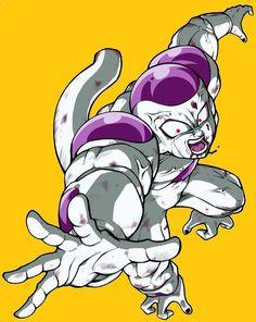 Dbz, Dragon Ball Z, Freezer, Manga, Rock, Wallpaper, Anime, Fictional Characters, Male Tattoo
