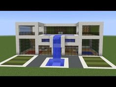Minecraft – How to build a modern house 11 | Minecraft Stream