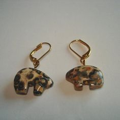 Pig Carved Stone Gold
