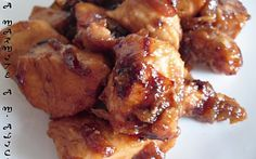 Poulet caramelisé au miel