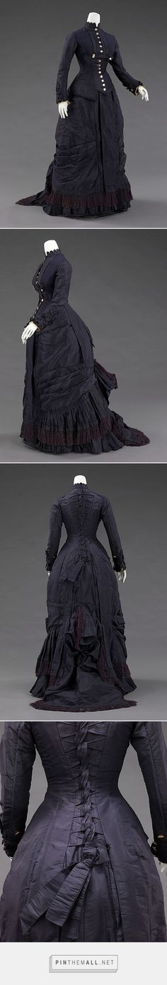 Dress by Mrs. F. M. Carroll 1877 American | The Metropolitan Museum of Art