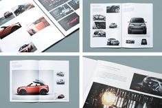 Automotive Book Type A on Behance