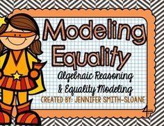 FREEBIE Modeling Equality (Properties of Equality)- Modeling Addition Property of Equality and Subtraction Property of Equality