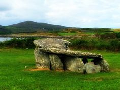 Iin County Cork, Ireland, we drove down to Mizen Head, stopping along the way to see the Altar wedge tomb. This Stone Age site is 7 km west of Schull...