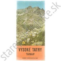 Vysoké Tatry TANAP, letná turistická mapa