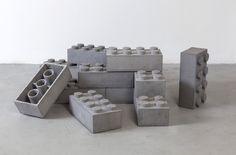 Concrete LEGO Blocks by Andrew Lewicki