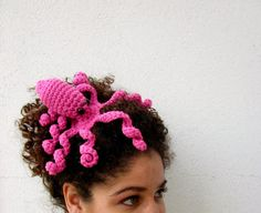 Octopeep Fascinator Hair Clip Tentacle Headpiece by Nerdifacts, $22.99