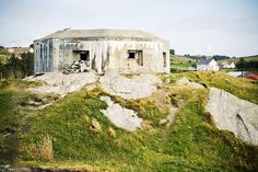 An old German bunker on the coast of Norway near Stavanger. They've kept them to always remember occupation. Photo by Trude Ellingsen.