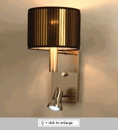 Lombardia Black Gold Chelsea 1 Wall Sconce  Item# LombardiaBlackGoldChelsea1  Regular price: $300.00  Sale price: $255.00