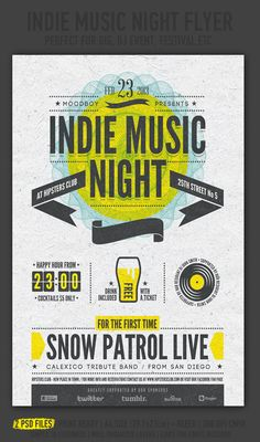 20 Beautiful Flyer Designs For Inspiration