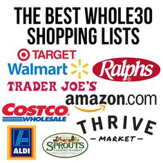 The Best Whole30 Shopping Lists - Little Bits of...