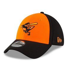 watch 80338 41795 Men s Baltimore Orioles New Era Orange Black 2018 Players  Weekend 39THIRTY  Flex Hat