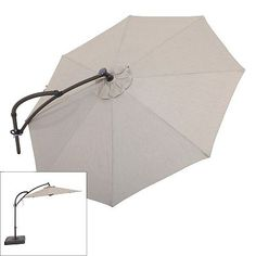 SONOMA outdoors Crank and Tilt Lighted Offset Cantilever Umbrella $349.99