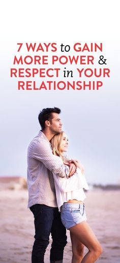 how to gain respect in your relationship