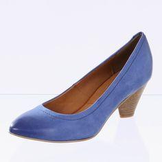 FANTASY Damen Pumps Luna blau 5 cm Schuhe Damen