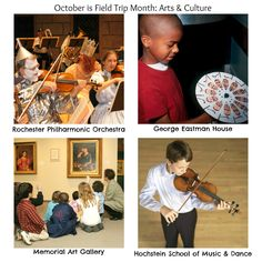 October is Field trip month. Find exciting arts & cultural experiences in Rochester the Finger Lakes. #familyfun #fieldtrip
