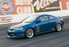 Acura Integra RSX HKS #blue