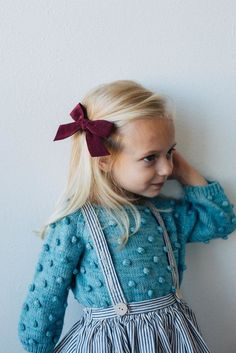 Wunderkin - Handmade hair bows for your baby, toddler, or little girl and her free-spirited style. Each of our bows are handmade by women in the USA and guaranteed for life. Shop our bows to complete your little one's one-of-a-kind everyday fashion. Click for style details.
