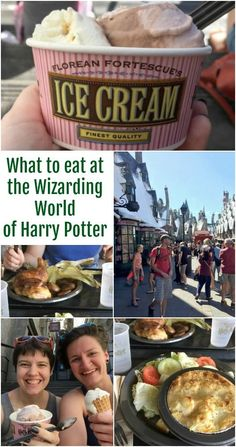 What to eat at the Wizarding World of Harry Potter - Travel Orlando - Ideas of Travel Orlando Universal Orlando, Disney Universal Studios, Universal Studios Florida, Universal Resort, Harry Potter World Universal, Harry Potter Food, Orlando Travel, Orlando Vacation, Orlando Florida