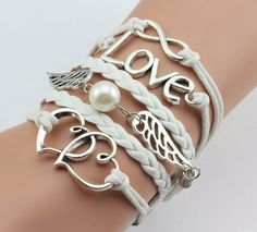 Vintage Fashion Women Jewelry Leather Double Infinite Multilayer Bracelets Factory Price Wholesales