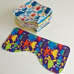 Ingenious Easy Burp Cloth / I made these for 3 baby shower's that were all together---- they turned out fantastic and easy to sew!