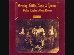 Woodstock - Crosby, Stills, Nash & Young, 1970 - written by Joni Mitchell - altogether different from Mitchell's ethereal original, CSNY's version is muscular, glorious and desperate, all at the same time, trying to kickstart a Counter Culture dream that had already faded.