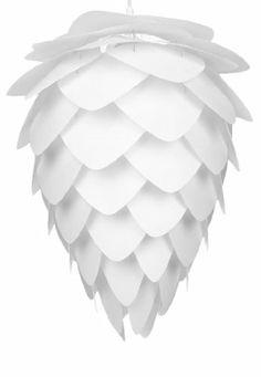 Vita Lighting Inc 02017/04007 Conia - One Light Pendant, White Finish with Pine Cone Shade Vita Lighting Inc,http://www.amazon.com/dp/B00D05A5DY/ref=cm_sw_r_pi_dp_A4cwtb0D3K75AB2Z