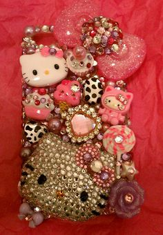 Hello kitty decoden! .....BLING