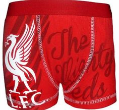 Liverpool F.C. Liverpool FC Official Football Gift 1 Pack Boys Boxer Shorts Red 5-6 Years No description (Barcode EAN = 5055294056405). http://www.comparestoreprices.co.uk/boys-underwear/liverpool-f-c-liverpool-fc-official-football-gift-1-pack-boys-boxer-shorts-red-5-6-years.asp